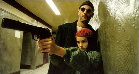 Natalie Portman and Jean Reno in Leon:  The Professional (1994)